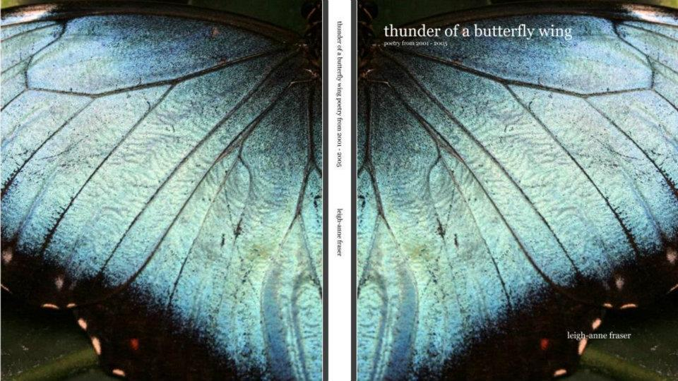 thunder of a butterfly wing book