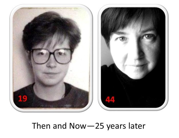 me 25 years later